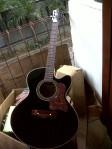 gitar akustik venetian cutaway sungkai (28)